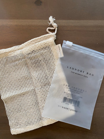Bamboo Pad Laundry Bag