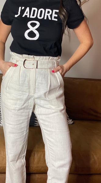 Belle Paper Bag Pants
