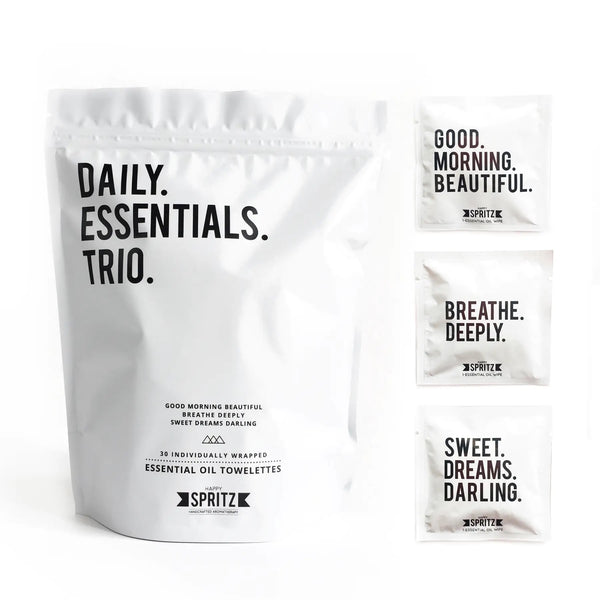 Daily Essentials Trio Mixed Towelette Bag