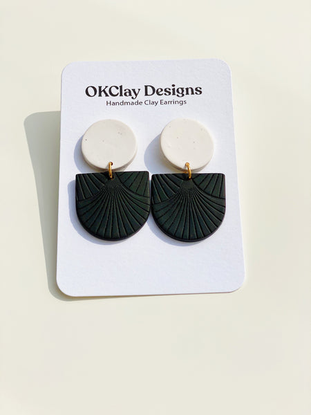 B+W Mayfair Texture Earrings