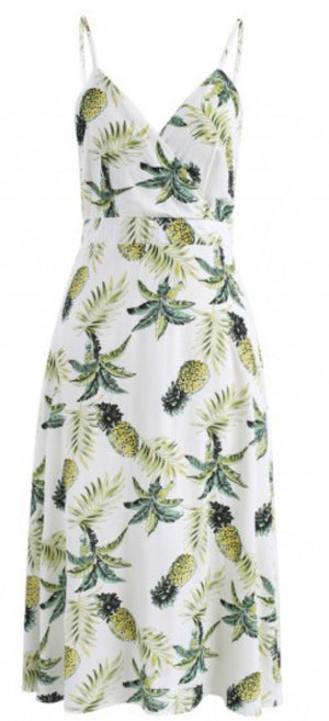 Pineapple Cami Dress