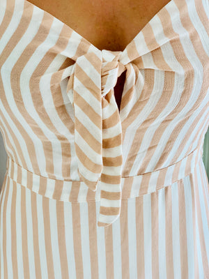Blush Candy Stripe Dress