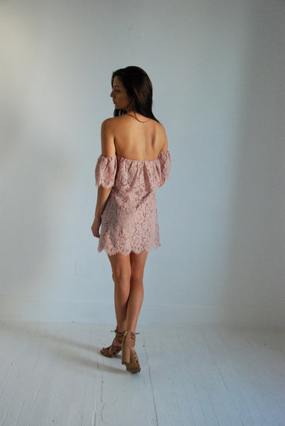 Sedona Off The Shoulder Lace Dress