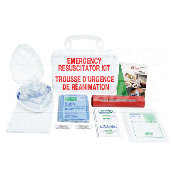 Safecross® Emergency Resuscitator Kit