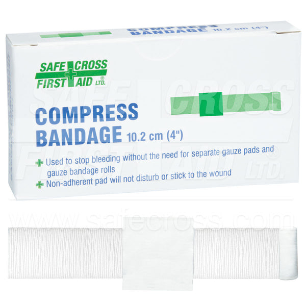 Safecross® Compress Bandages Sterile