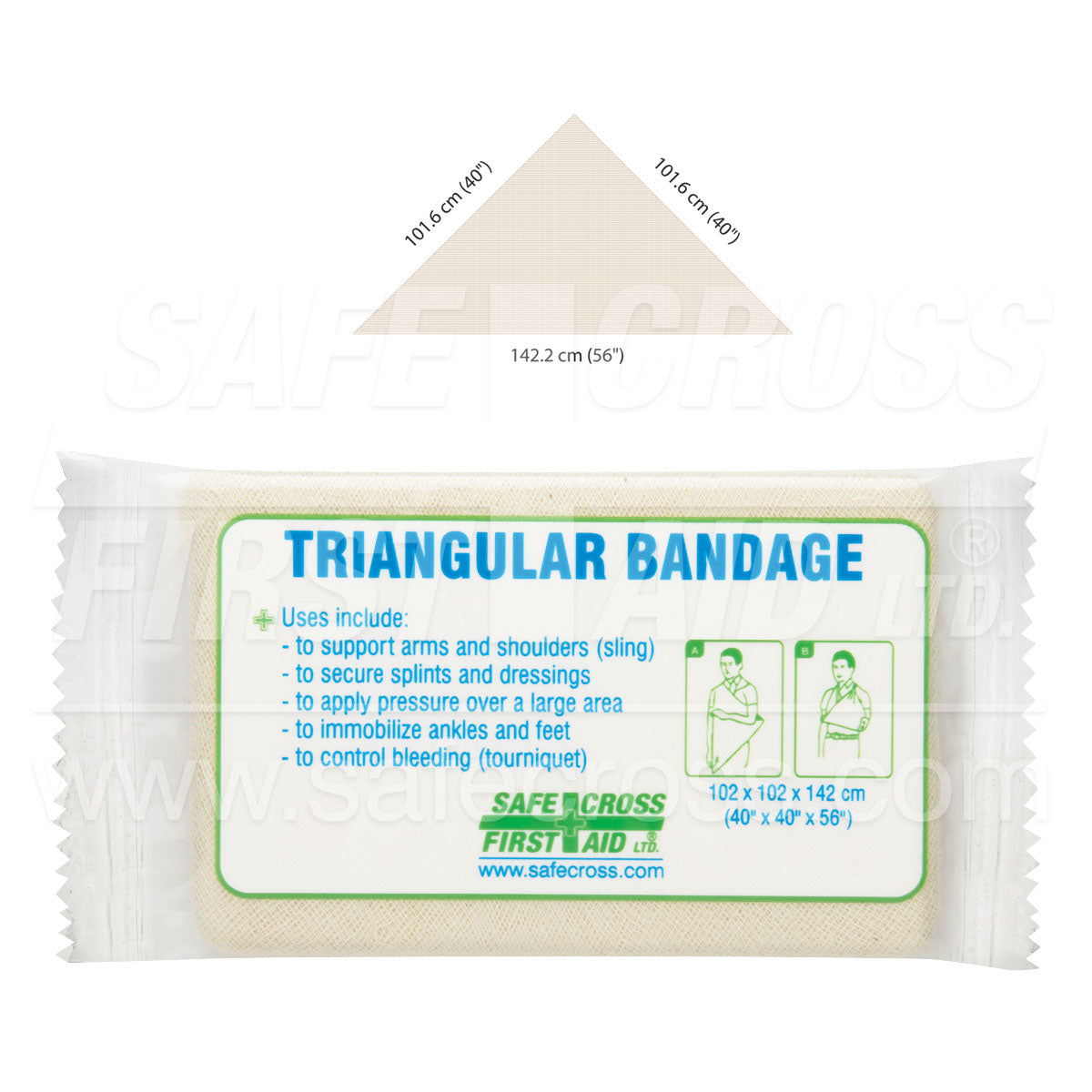 Safecross® Triangular Bandages