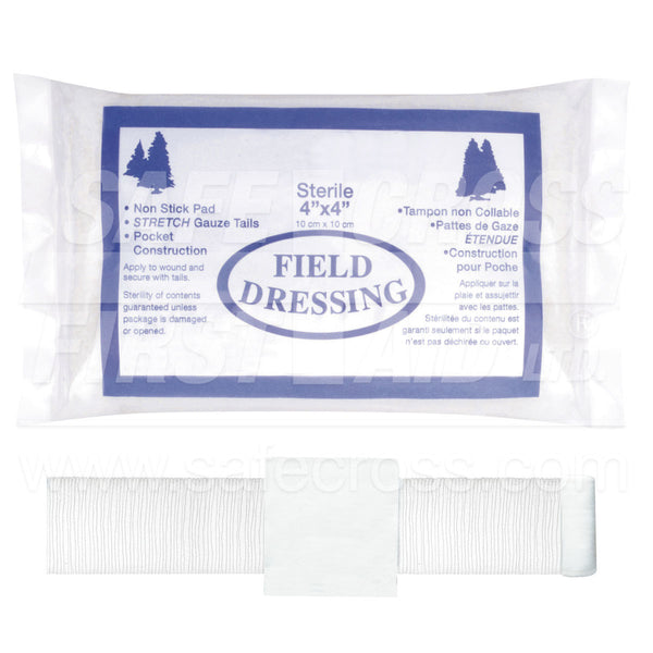 Field Dressing Compress Bandage Sterile
