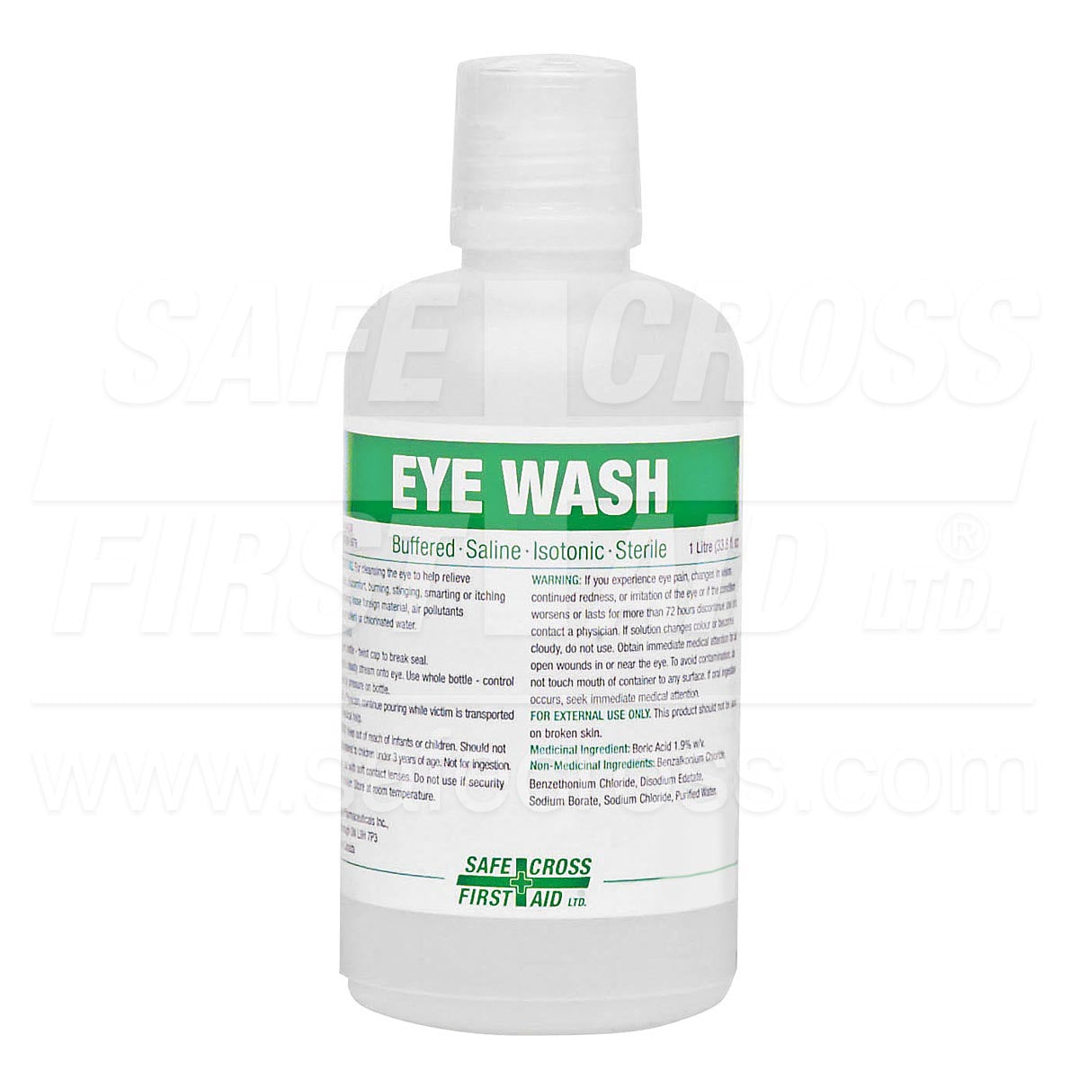 Safecross® Eye Wash Sterile