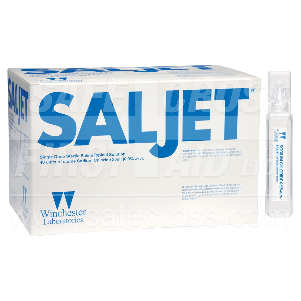 Saljet® Saline Topical Solution Sterile