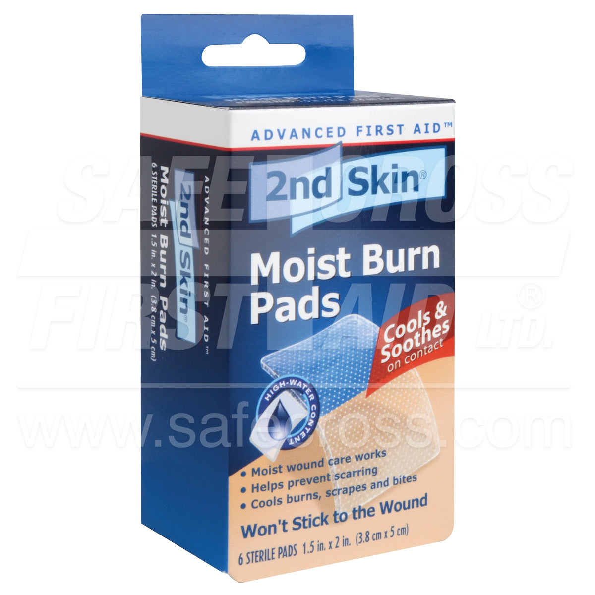 Spenco® 2nd Skin® Moist Burn Pads Sterile