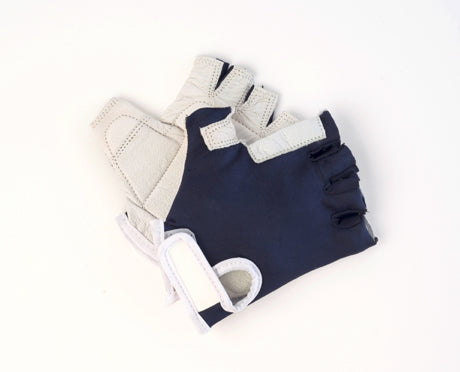 SPANDEX ANTI-VIBRATION GLOVES, BLUE (SIZES XS, S, M, L, XL)