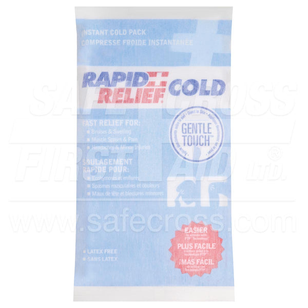 Rapid Relief® Gentle Touch™ Instant Cold Packs