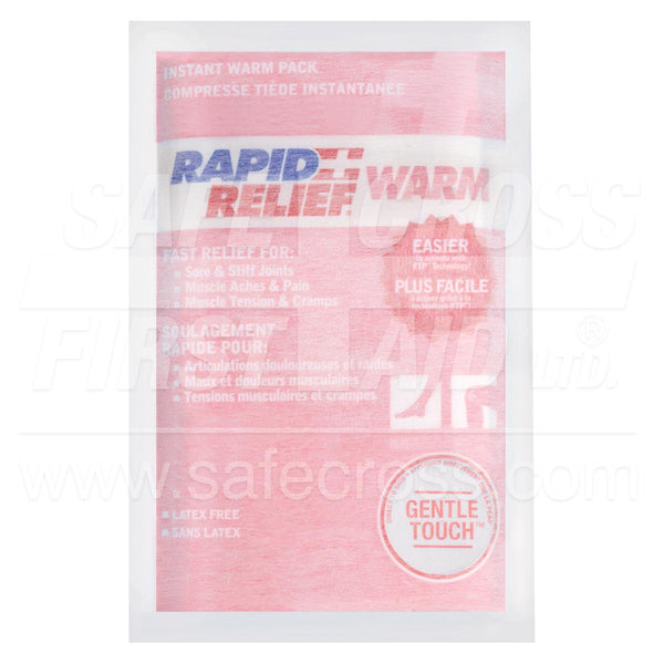 Rapid Relief® Gentle Touch™ Instant Warm Packs