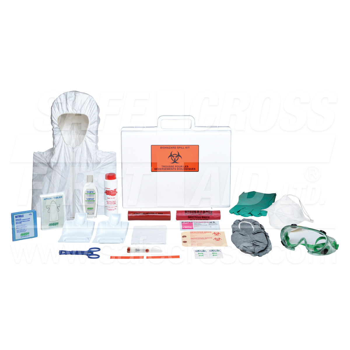 Safecross® Biohazard Mobile Spill Kit