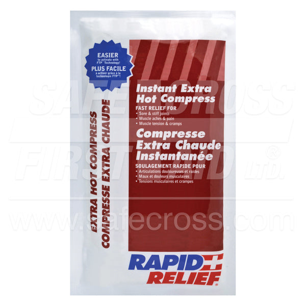 Rapid Relief® Instant Hot Packs