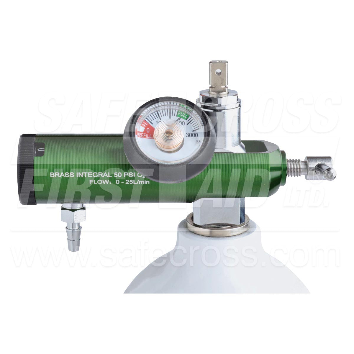 Adjustable Flow Oxygen Regulator
