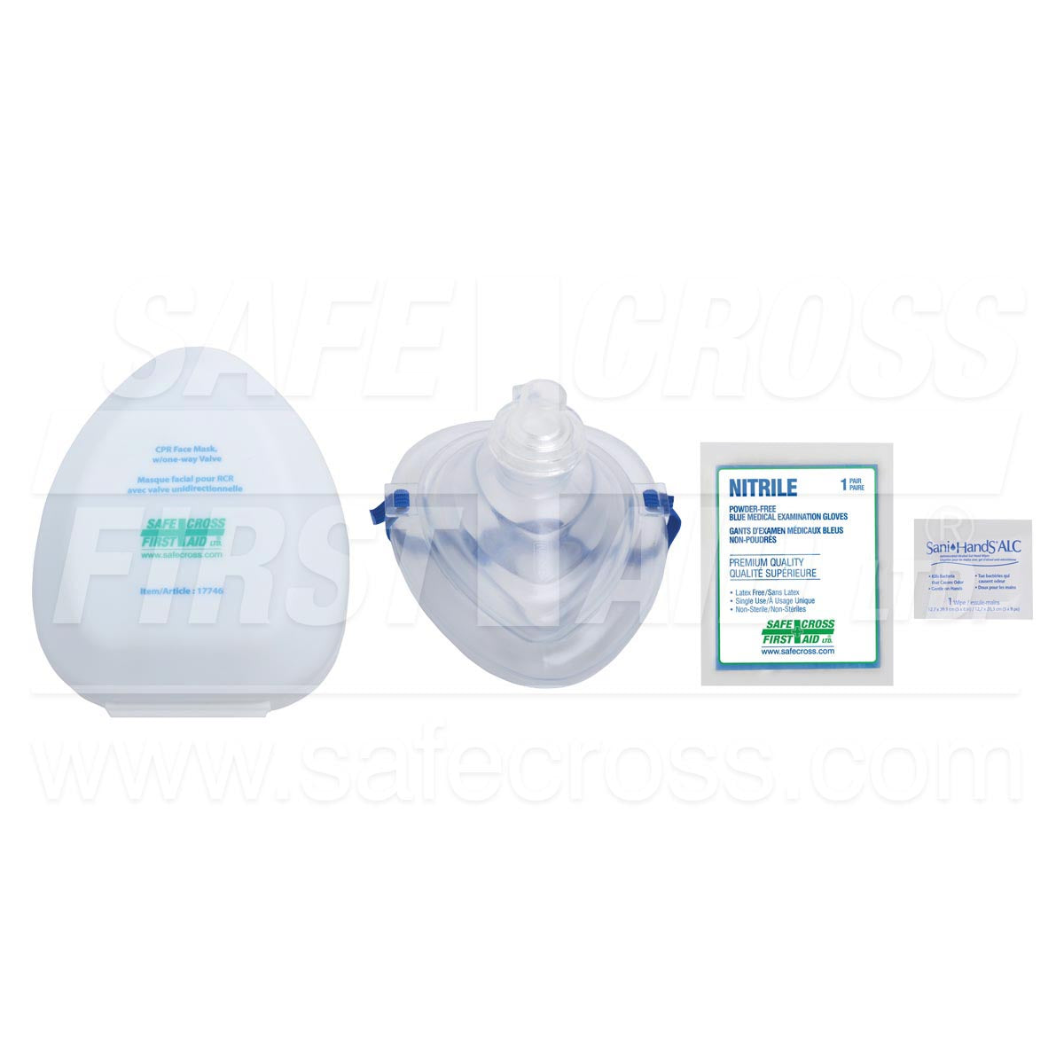 Safecross® Cpr Pocket Face Mask