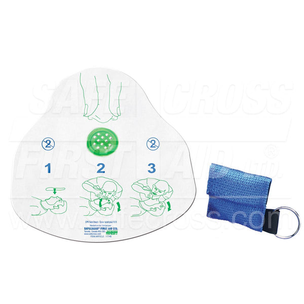 Safecross® Cpr Face Shield