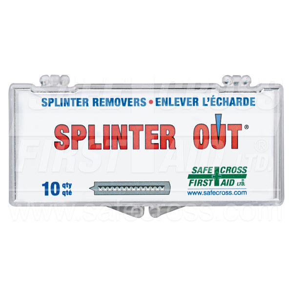 Safecross® Splinter Out® Sterile