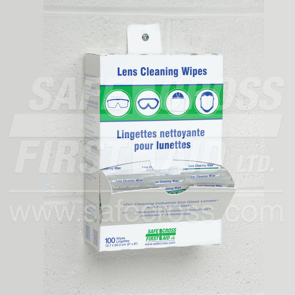 Safecross® Lens Cleaning Wipes