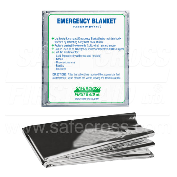 Safecross  Rescue Foil Blanket