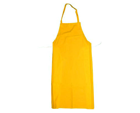 104P Yellow PVC/POLY/PVC Apron with Patch – 35″ X 45″