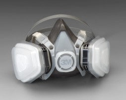3M™ 53P71 Dual Cartridge Respirator Assembly – OV, Large