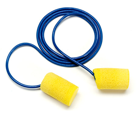 3M™ E-A-R™ CLASSIC™ CORDED EAR PLUGS (200 PAIR PER BOX)