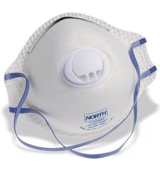 North N95 Disposable Respirator with Exhale Valve (Box of 10) Universal Fit