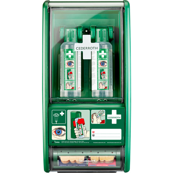 Cederroth Eye Wash/Salvequick® First Aid Station