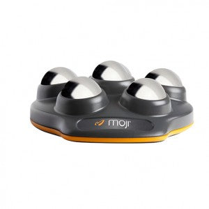 Moji Foot Pro has a base to help it stay in place