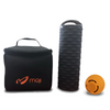 Heated Roller, Small Massage Ball, and Thermal Bag Bundle