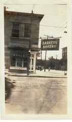 Barkers Bakery, Ontario, work place of Allen Ralph.