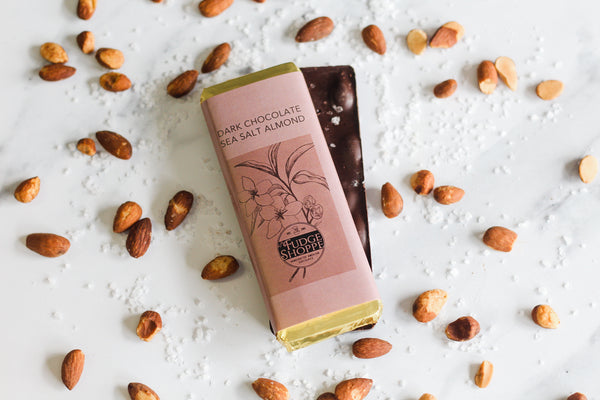 Dark Chocolate Sea Salt Almond Bar