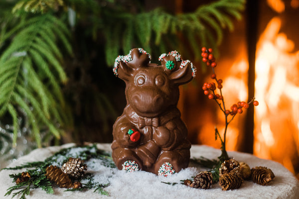 Decorated Chocolate Reindeer
