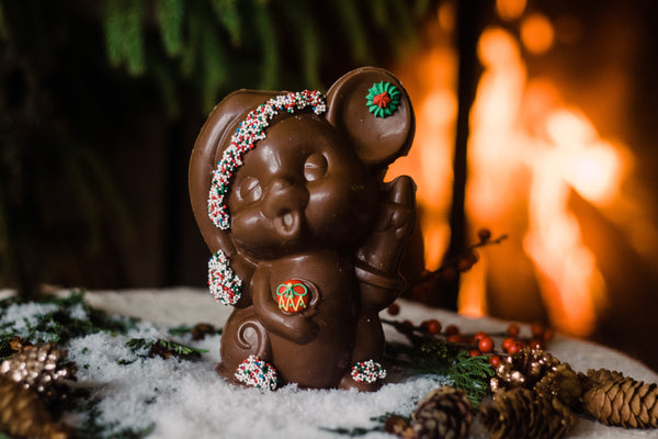 Chocolate Holiday Mouse