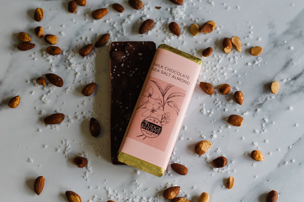 Milk Chocolate Sea Salt Almond Bar