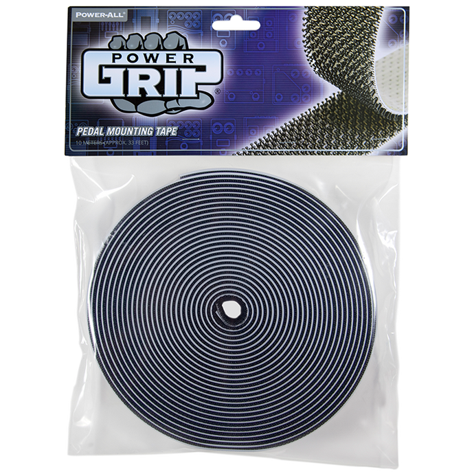 POWER-GRIP® (10-meter) - pedal board tape - pedalboard dual lock and velcro alternative