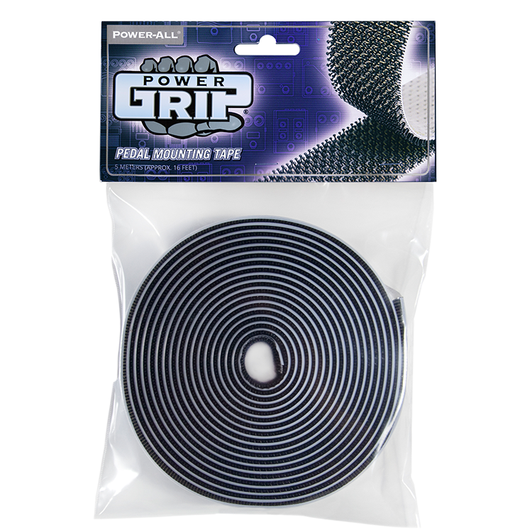 POWER-GRIP® (5-meter) - pedal board tape - pedalboard dual lock and velcro alternative