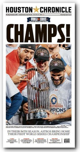 CHAMPS! November 2nd High Gloss Frameable Poster (11