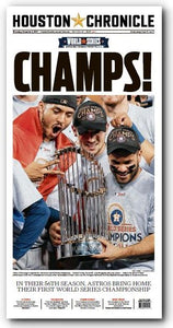 "CHAMPS! November 2nd High Gloss Frameable Poster (11""x22"")"