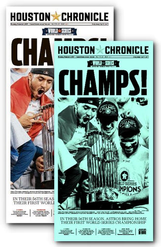 CHAMPS! Press Plate and High Gloss Poster from November 2nd Issue (11