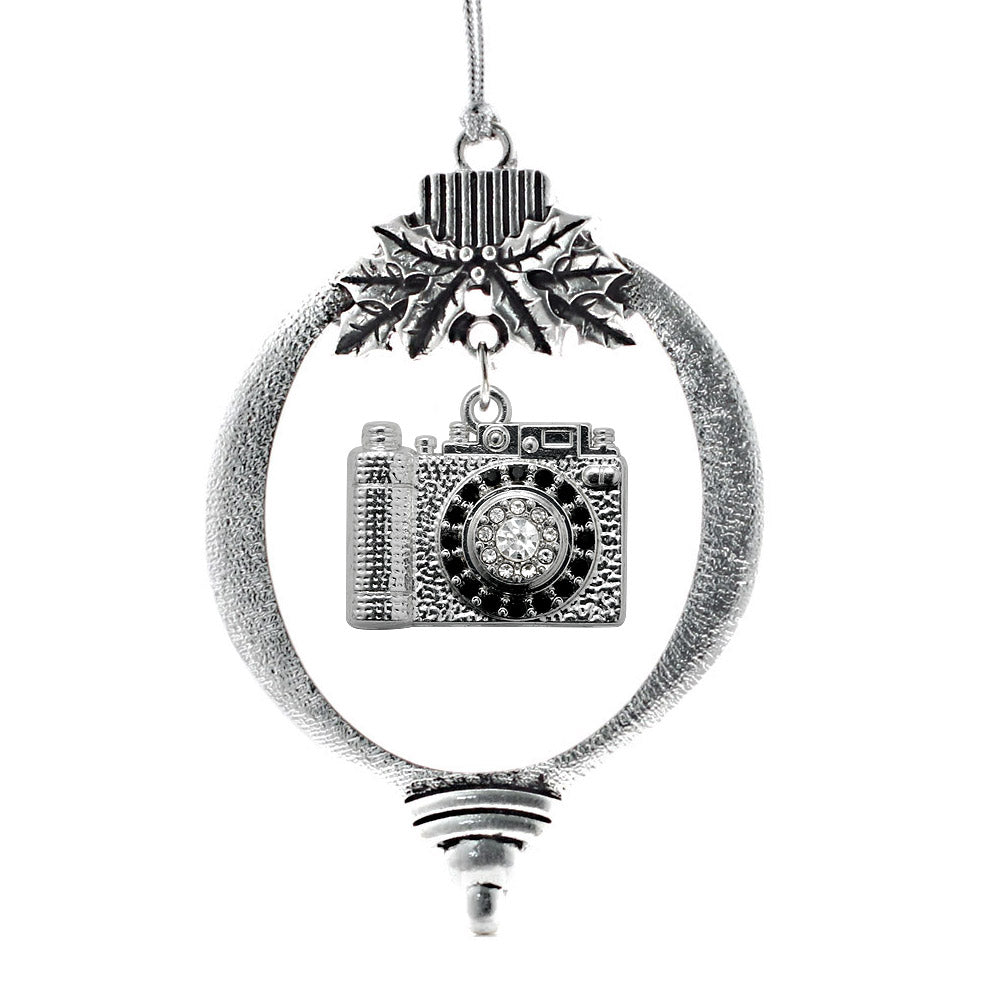 1.0 Carat Vintage Camera Charm Christmas / Holiday Ornament