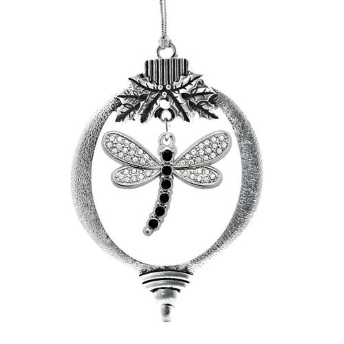 2.0 Carat Dragonfly Charm Christmas / Holiday Ornament