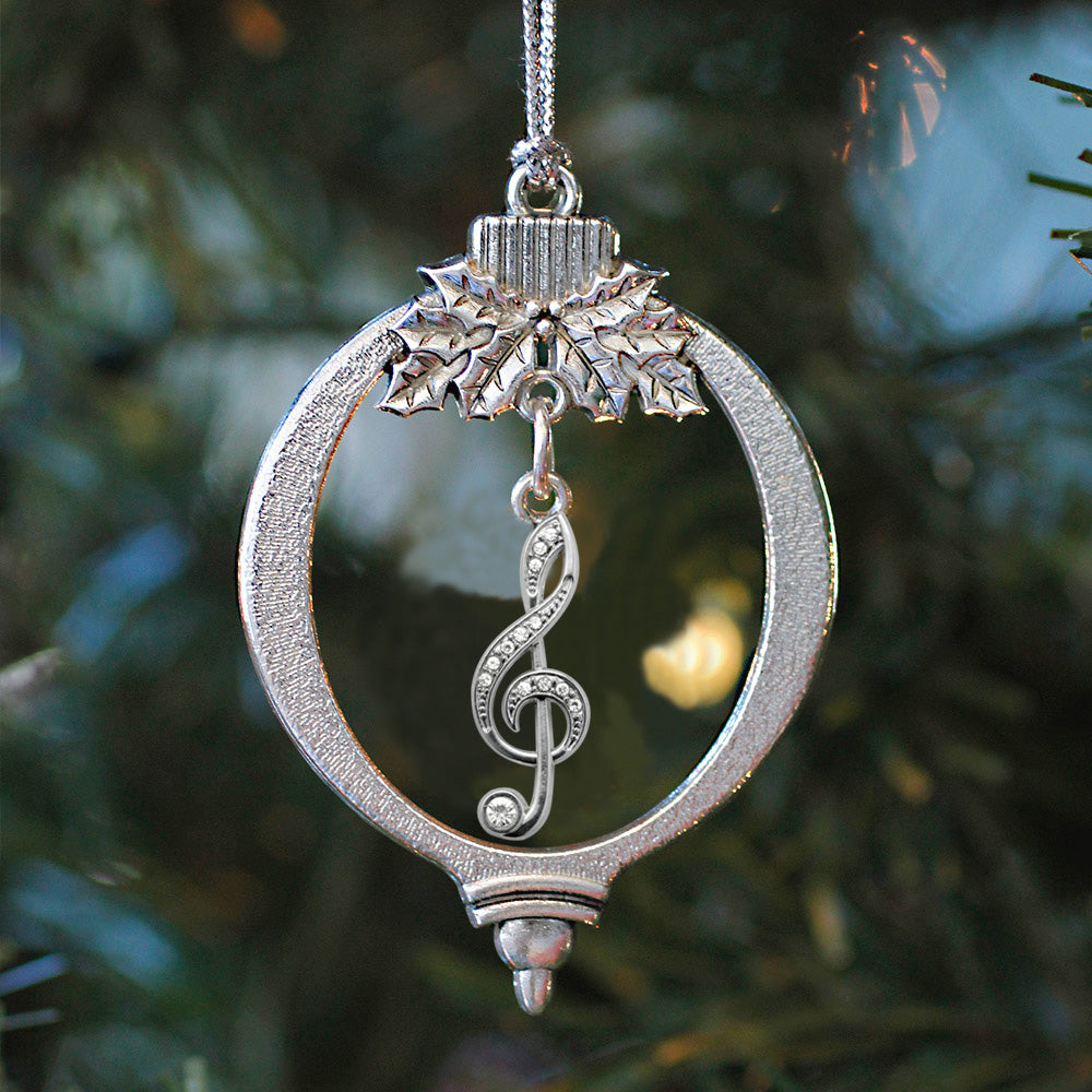 Half Carat Musical Note Charm Christmas / Holiday Ornament