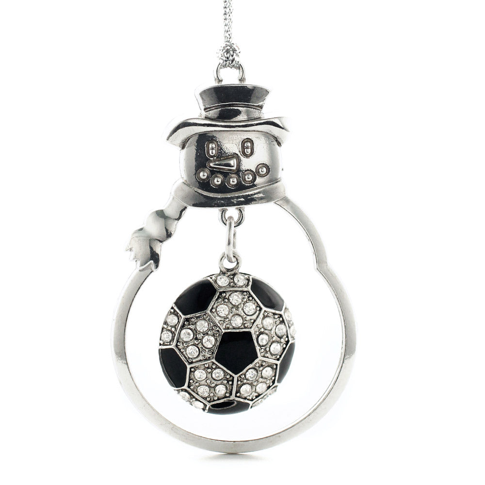 3.0 Carat Pave Soccer Ball Charm Christmas / Holiday Ornament