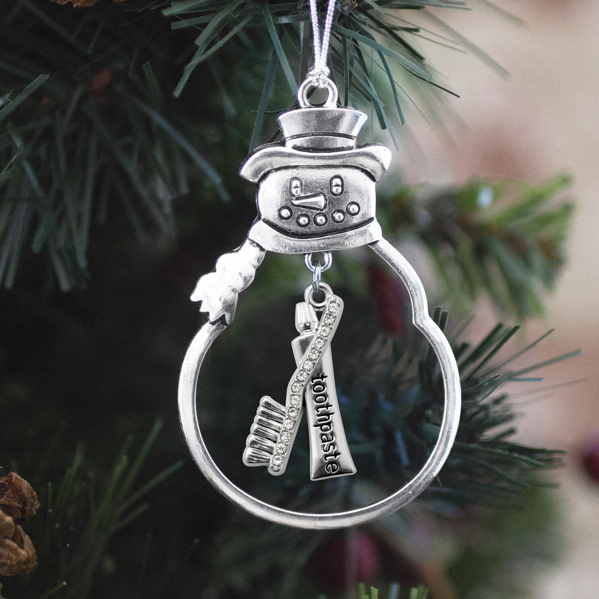 Half Carat Dental Charm Christmas / Holiday Ornament