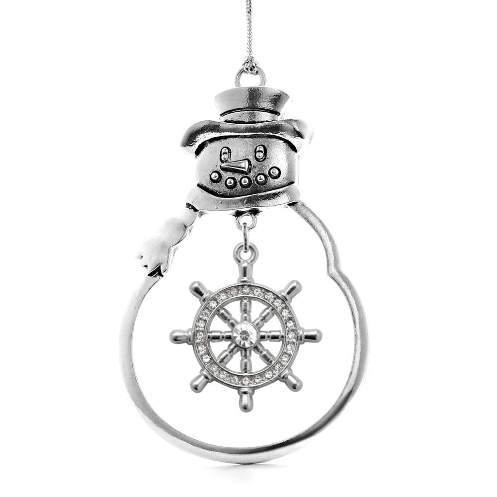 1.0 Carat Nautical Charm Christmas / Holiday Ornament