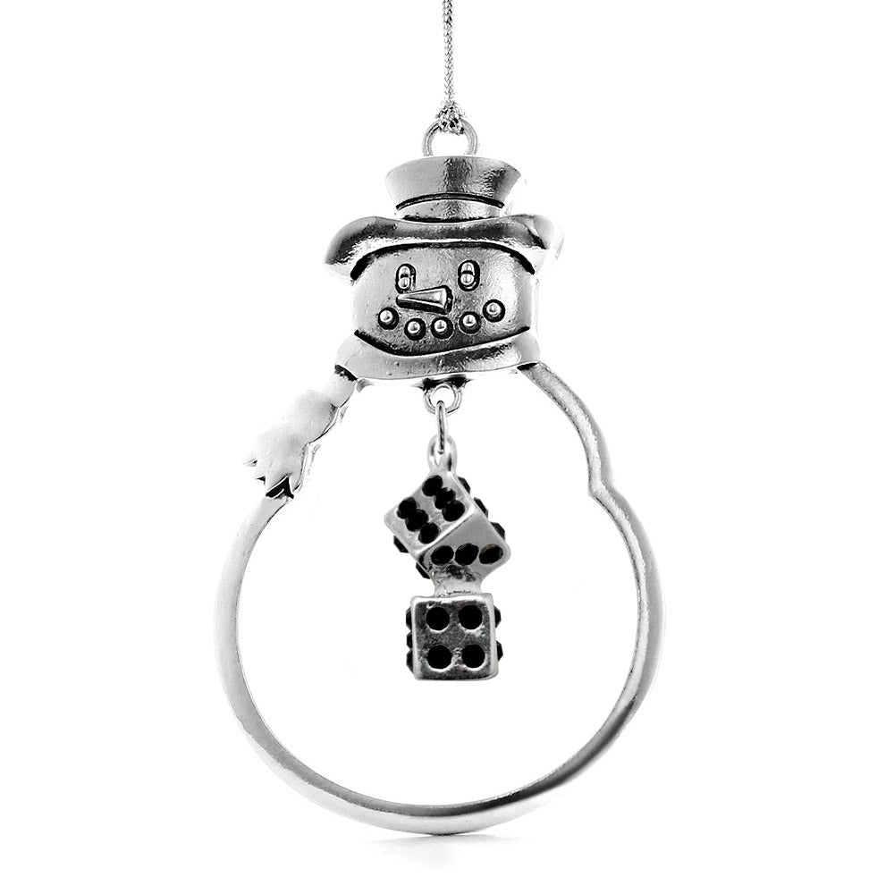 1.0 Carat Dice Charm Christmas / Holiday Ornament