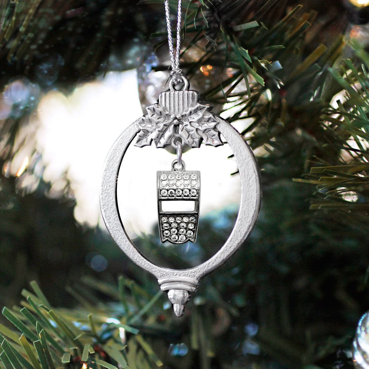 3.0 Carat Whistle Charm Christmas / Holiday Ornament